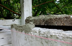 Verarbeitung Mauerabdeckung Coppo Sardo